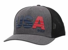 Adidas USA Trucker Hat (Black/Grey)