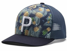 Puma Golf P Trucker 110 Hat - Pineapple
