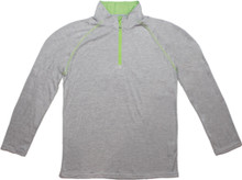 Weather Apparel Company Men's Long Sleeve Jersey 1/4 Zip Pullover