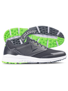 Callaway Solana Spikeless Mens Golf Shoes (Black/Lime)