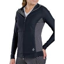 JoFit Women's Evolution Jacket - Diagonal Stripe