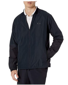 Oakley Men's Golf Full Zip Jacket - Blackout