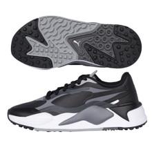 Puma Golf Men's RS-G Spikeless Golf Shoes - Black/Grey
