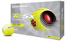 TaylorMade 2021 TP5x Golf Balls - Yellow