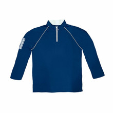 Weather Apparel Company Men's Solid Long Sleeve Jersey 1/4 Zip Pullover