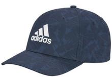 Adidas Golf Mens Tour Print Hat - Crew Navy
