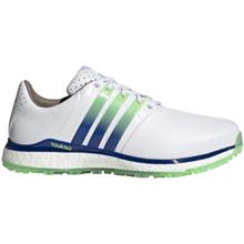 Adidas Golf Men's Tour360 XT-SL Spikeless Shoes - White/Blue/Green