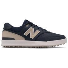 New Balance 574 Greens Spikeless Golf Shoes - Navy
