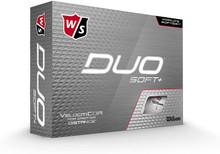 Wilson Staff Duo Soft+ Golf Balls - White - 1-Dozen