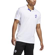 Adidas Men's Primeblue Heat.Rdy Polo Shirt - White
