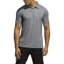 Adidas Men's Primeblue Pique Polo Shirt - Black/White