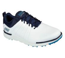 Skechers Go Golf Elite Tour SL Mens Golf Shoes (White/Navy)
