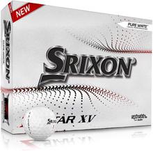 Srixon Z-Star XV7 Golf Balls - White - 1-Dozen