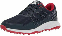 New Balance Men's Fresh Foam Pace SL Golf Shoe (Navy/Red)