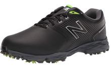 New Balance Striker V2 Men's Golf Shoes - Black/Lime