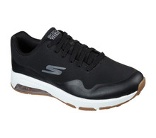 Skechers Men's Go Golf Skech-Air Dos Shoes - Black/Gold