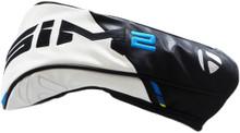 TaylorMade Golf 2021 Sim2 Driver Head Cover - Black/White/Blue