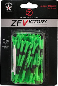 Zero Friction Victory 2 3/4 Golf Tees - 40 Pack