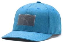 Puma Golf Men's Utility Patch 110 Snapback Hat Cap - Ibiza Blue