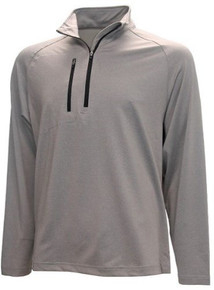 Forrester Heathered Chest Pocket 1/4 Zip Pullover