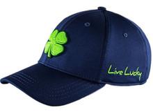 Black Clover Premium Clover 15 Hat - Navy/Lime