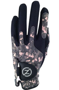 Zero Friction Men's Compression Fit Golf Gloves - One Size - Camo