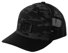 Travis Mathew Men's Expedition 21 Snapback Golf Hat - Black - One Size