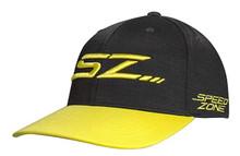 Cobra Golf Men's Speedzone SZ 110 Snapback Hat Cap - Black/Yellow