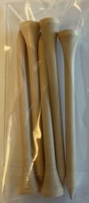 """5-Pack Wood 3.25"""" Tees"""