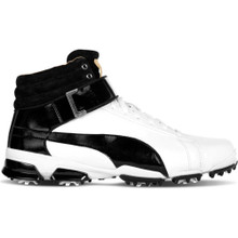 Puma 2017 Ignite Hi-Top JR Golf Shoes (White/Black)
