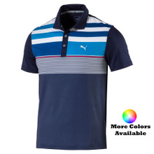 Puma Golf Juniors Road Map Asym Polo