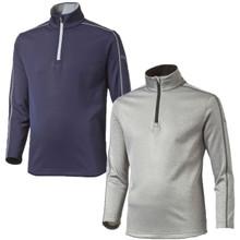 Puma Golf Juniors Core Fleece 1/4 Zip Pullover