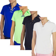 JoFit Women's Lace Up Polo