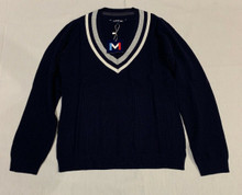 Movetes Cricket V-Neck Sweater