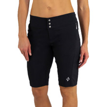 JoFit Women's Bermuda Golf Shorts - Black