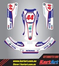 Williams replica Style Full graphics Kit