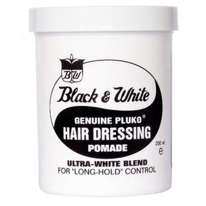 Black and White hair Wax