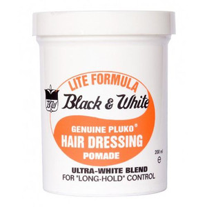 Black and White Wax Lite 200ml