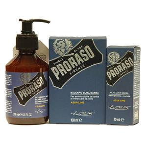 Proraso Azur Lime Beard Trio Deal