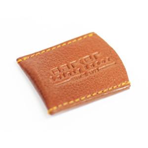 Parker LRCBR Brown Leather Razor Cover