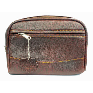 Parker TBLG Large Leather Toiletry Bag