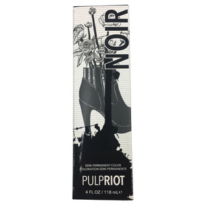 Pulpriot Noir 118ml Semi-permanent hair dye