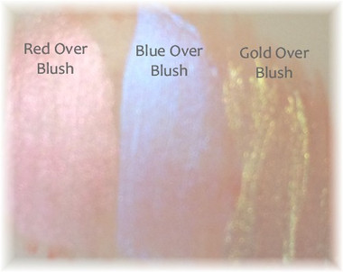 Over dried Blush color