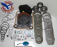 4L60E HD Rebuild Kit Mastert Kit Stage 3 w/3-4 PowerPack 1997-2000 Turb Steels