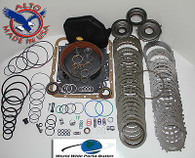 4L60E HD Rebuild Kit Mastert Kit Stage 4 w/3-4 PowerPack 1997-2000 Turb Steels