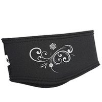 TrailHeads Power Swirl Headband - black