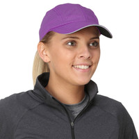 TrailHeads Women's Race Day Running Cap - radiant purple