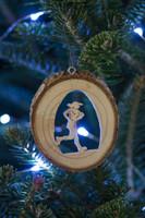 TrailHeads Runner Ornament - female
