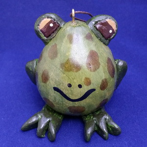 This cute frog is a great addition to any collection.