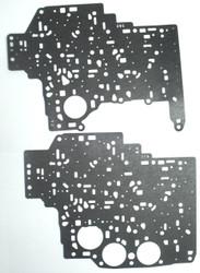 Valve Body Separator Plate Gasket Set, 4L80E (1990-1996) Upper & Lower
